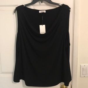 NWT Calvin Klein Plus Size Shell Top 2X $34.98